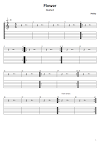 Flower Tabs Moby. How To Play Moby Flower On Guitar/ Moby Flower Free Tabs/ Flower Sheet Music. Moby - Flower