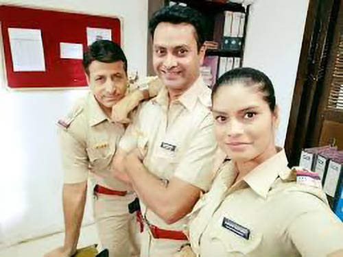 Criime Patrol actress Suman Singh in the role of inspector