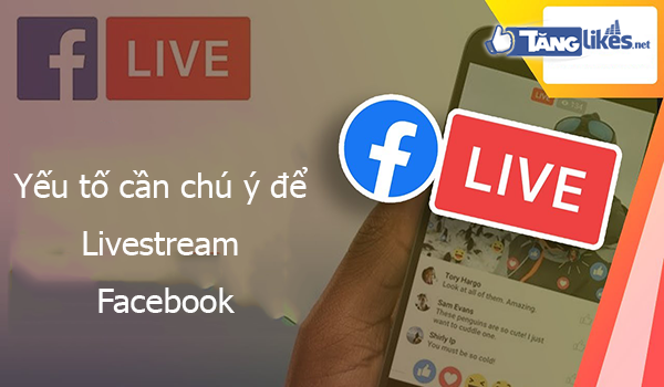 cach livestream facebook