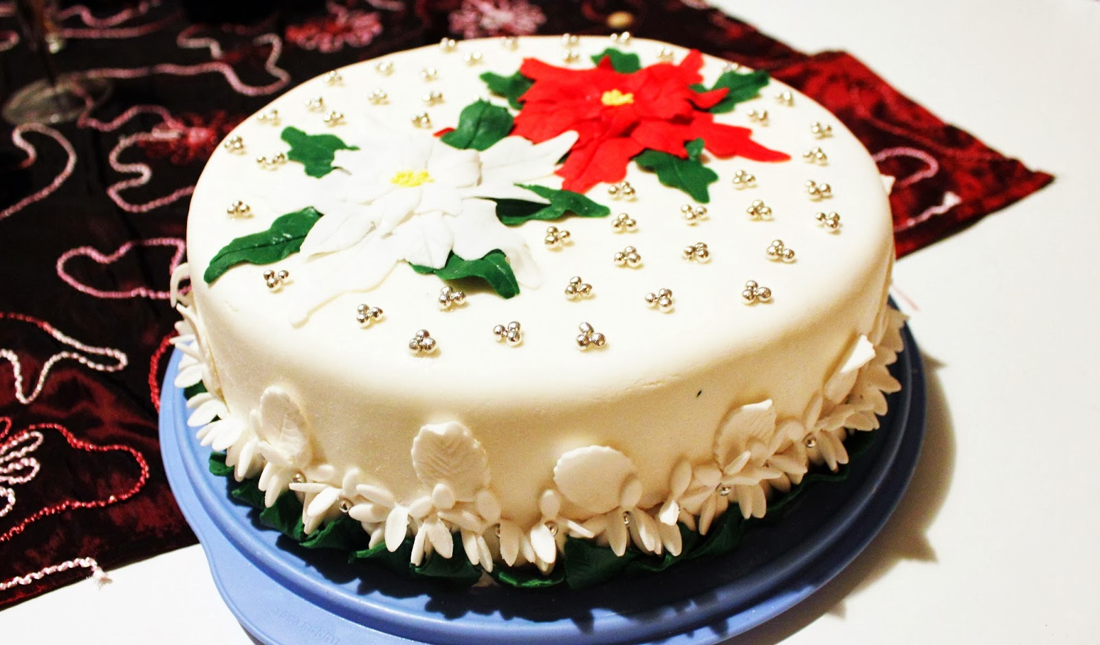 Torta Stella Di Natale.Villa S Cake Torta Stella Di Natale