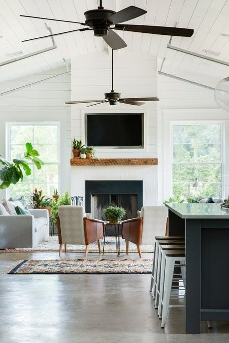 The Best Sleek And Modern Ceiling Fans For The Perfect Modern Farmhouse  Home.