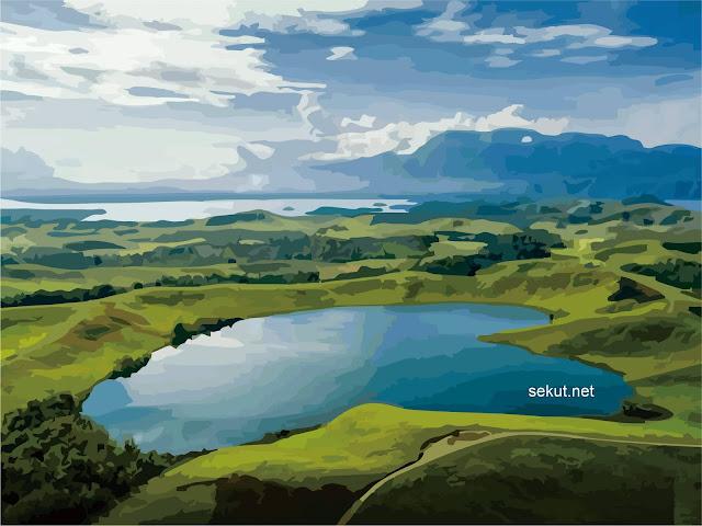 Destinasi Tempat Wisata Danau Sentani