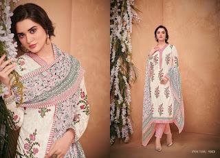 Mumtaz Arts Spring Floral Cotton lawn Suits catalog