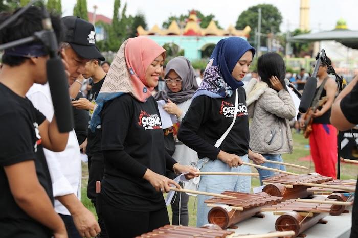 Acara Siger Mob 2020, Wagub Nunik Beri Ruang Musisi Lampung Berkiprah Lebih Luas di Daerah