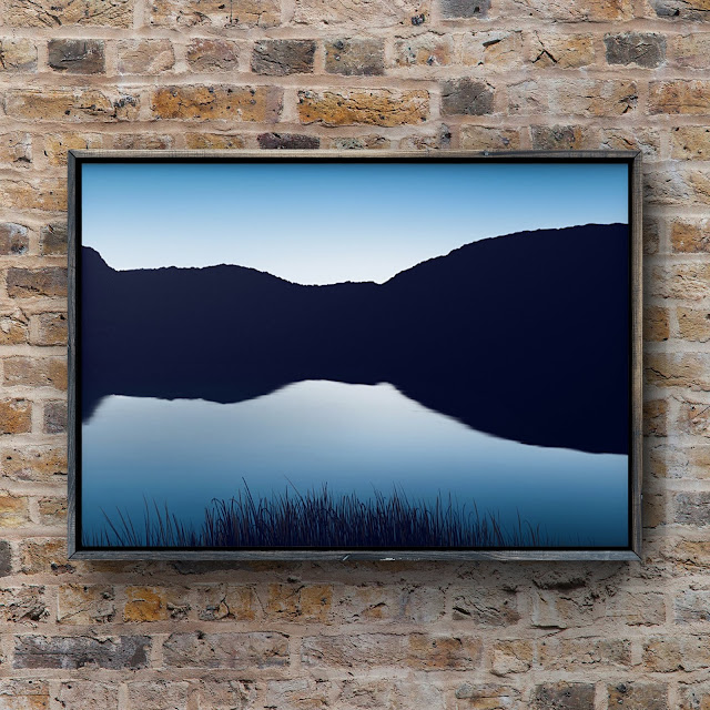 Reflections of Cornwall by Mark Taylor, cornish art, reflective art,