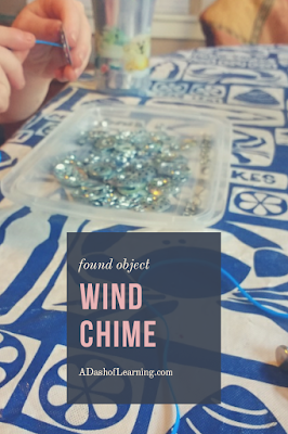 Found Object Wind Chime