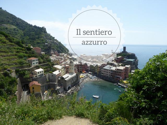 Trekking sul sentiero azzurro nelle Cinque Terre: panorama di Vernazza