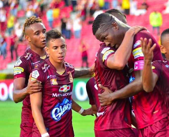 Julián Quiñones, rendidor: Dos goles en los últimos tres partidos con DEPORTES TOLIMA