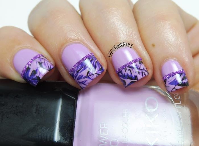 #lightyournails #nailart #purple #kikonails #kikocosmetics
