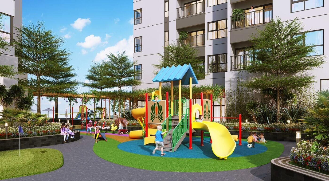 Khu vui chơi trẻ em dự án Vinata Tower Khuất Duy Tiến