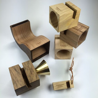 altavoces madera ecophonic
