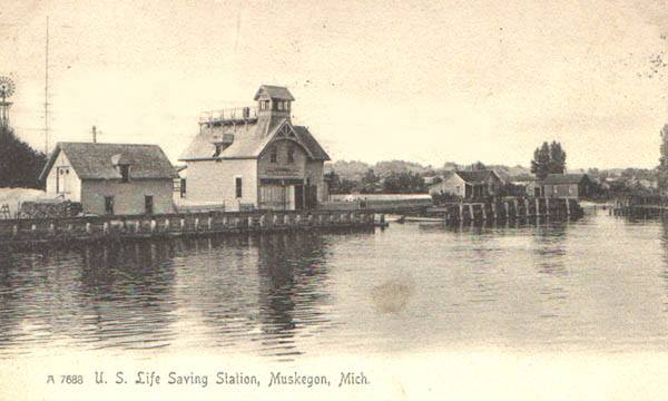 US Life Saving Station Muskegon
