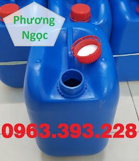 Can nhựa vuông 10 Lít, can nhựa 4 núm nhựa HDPE, can nhựa đựng hóa chất 984d2a77be4e5810015f