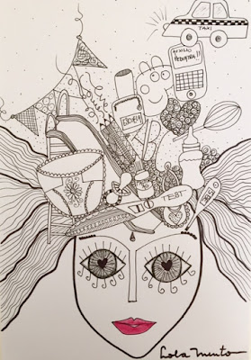 ilustraciones lola mento, lolamento, lola mento madre, dia de la madre