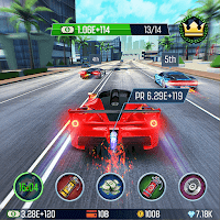 Idle Racing GO: Car Clicker & Tap Driving Tycoon Unlimited (Money - Diamond) MOD APK