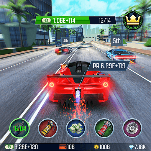 Idle Racing GO: Car Clicker & Tap Driving Tycoon - VER. 1.27.0 Unlimited (Money - Diamond) MOD APK