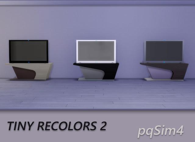 Tiny recolores 2. Televisores
