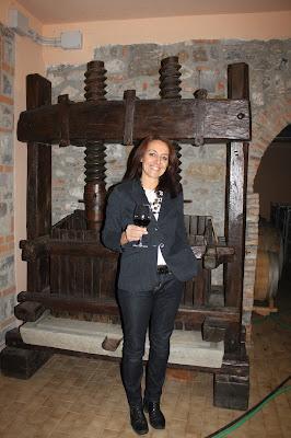 Winemaker Anna Muzzolini