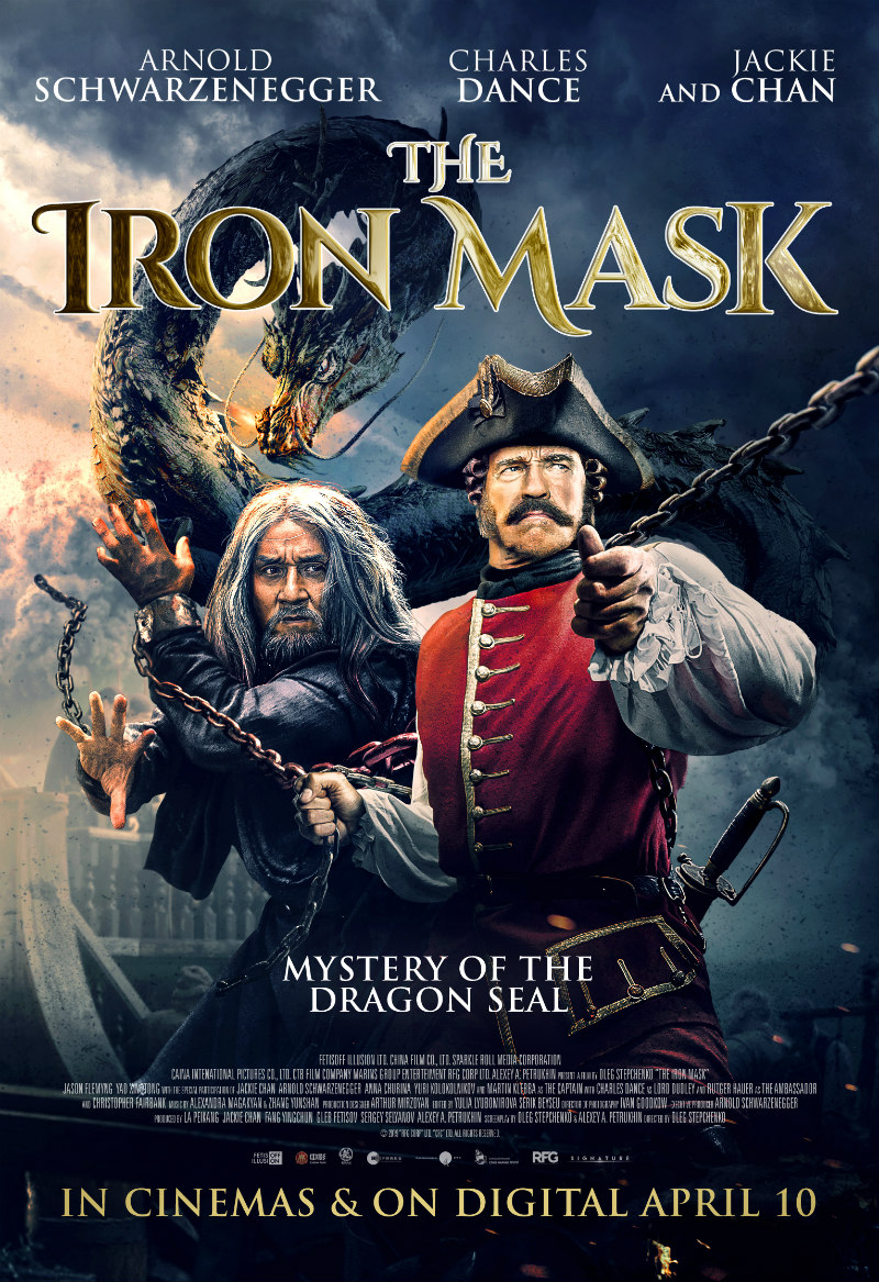 the iron mask poster