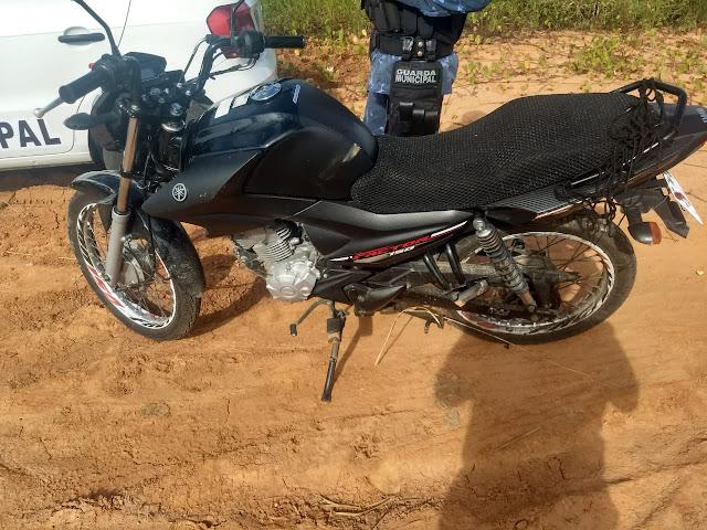 Gurda de Socorro recupera motocicleta com restrição de roubo/furto