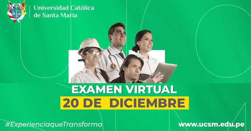 Resultados UCSM 2021 (Domingo 20 Diciembre 2020) Lista de Ingresantes - Segundo Examen Virtual General Ordinario - Universidad Católica de Santa María (AREQUIPA) www.ucsm.edu.pe