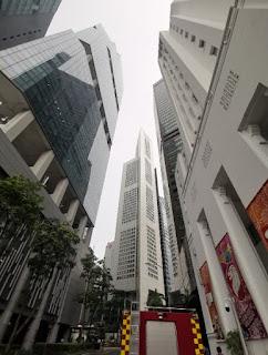 One Raffles Place de 280m. Singapur, Singapore.