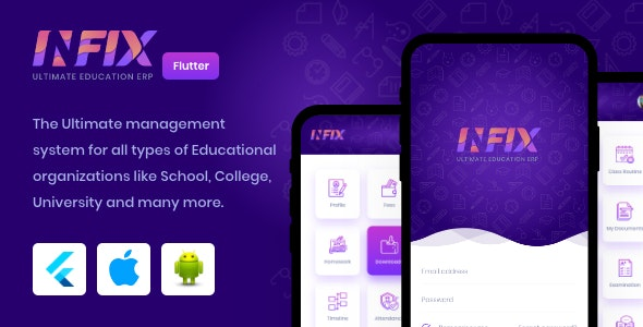 InfixEdu v1.0.3 - Open Source Flutter for Android & iOS Download