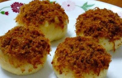 Chicken Floss Bun/Bun Serunding Ayam