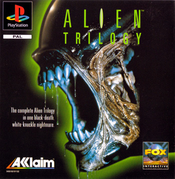 Alien Trilogy Psone