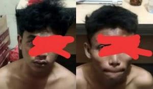 Dua Pria Asal Inhil Lantaran Jambret di Amankan Polisi