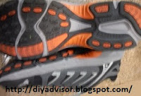 The repair is on Fila Beyond Men's running shoes