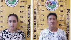 Dua Tersangka Kasus Sabu - Sabu Diamankan Polisi