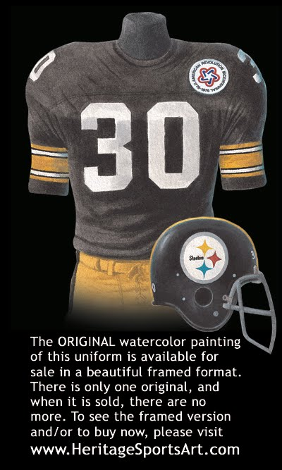 sports shoes 0e881 0556f Pittsburgh Steelers Uniform and Team History | Heritage ...