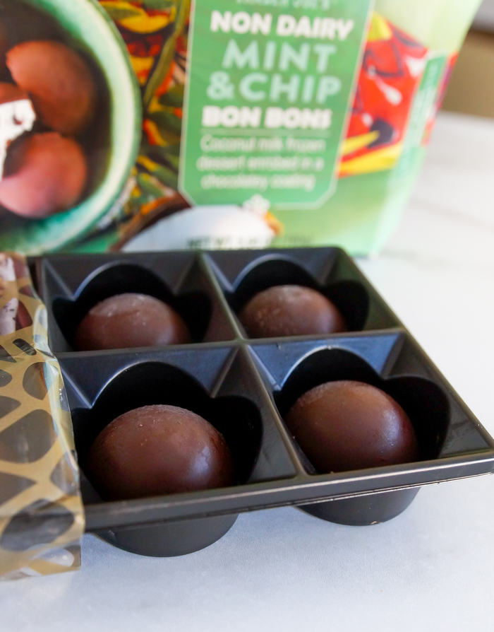 Trader Joe's Dairy Free Mint & Chip Bon Bons review