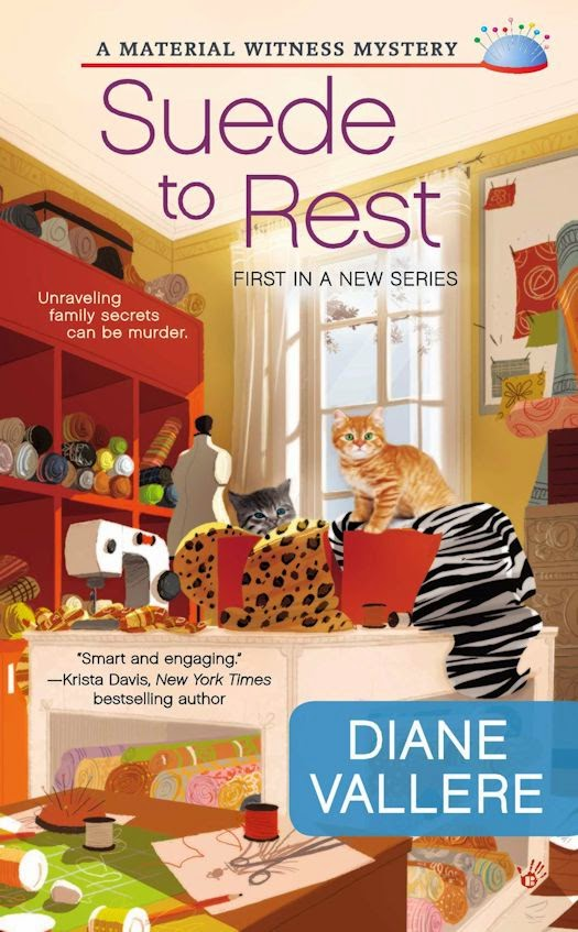 Review: Suede to Rest by Diane Vallere