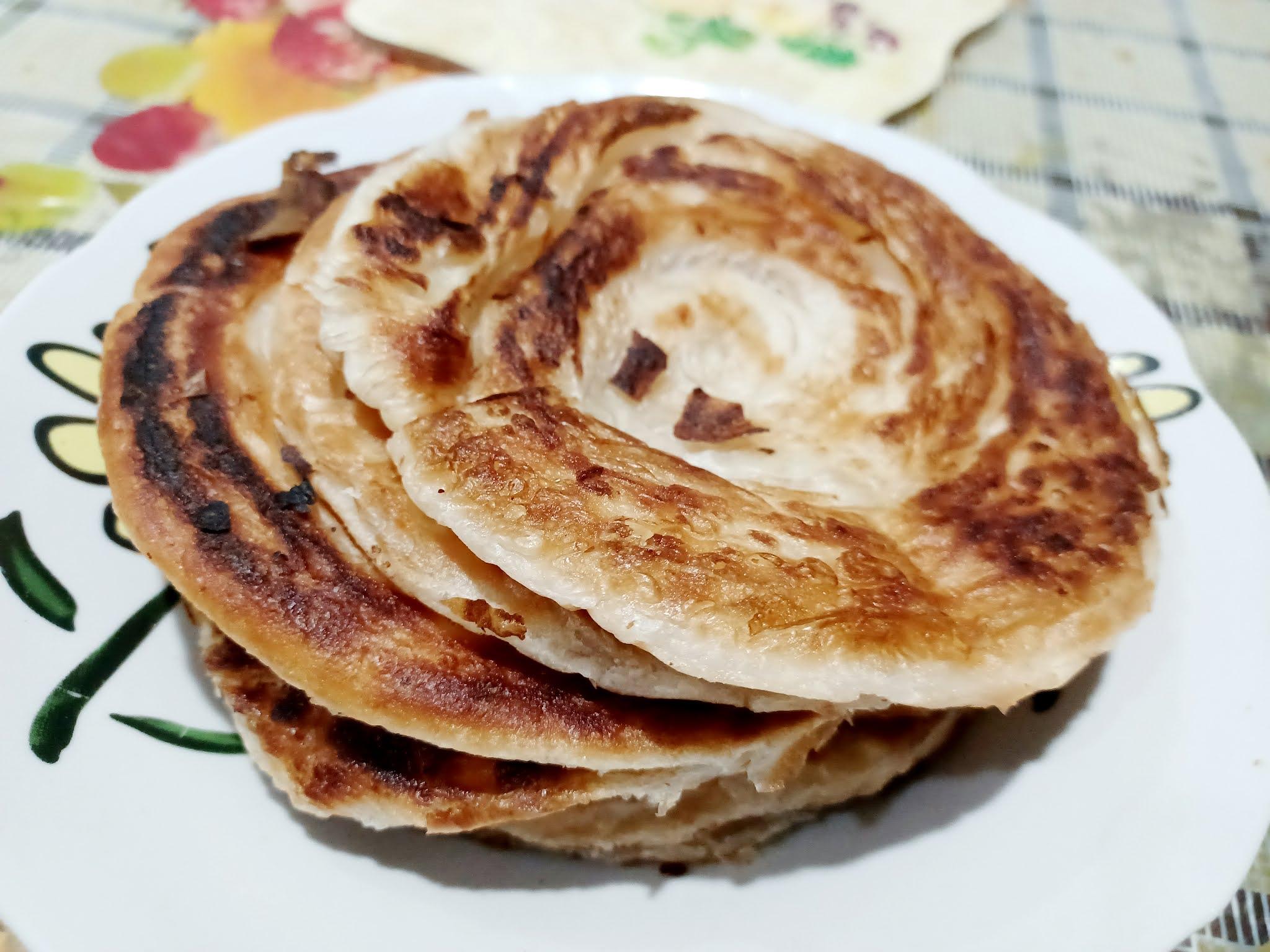 Sarapan Simple Dengan Roti Canai Segera
