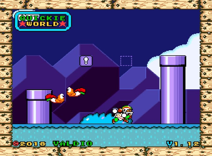 Download Rom Hack - Super Quickie World [SNES]