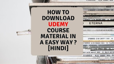 How to download udemy courses ?