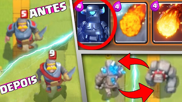 Cartas - Clash Royale
