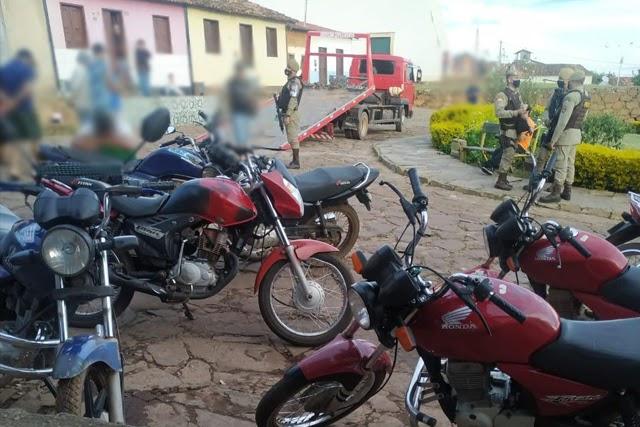 Polícia realiza Operação Argos no distrito de Mato Grosso, em Rio de Contas