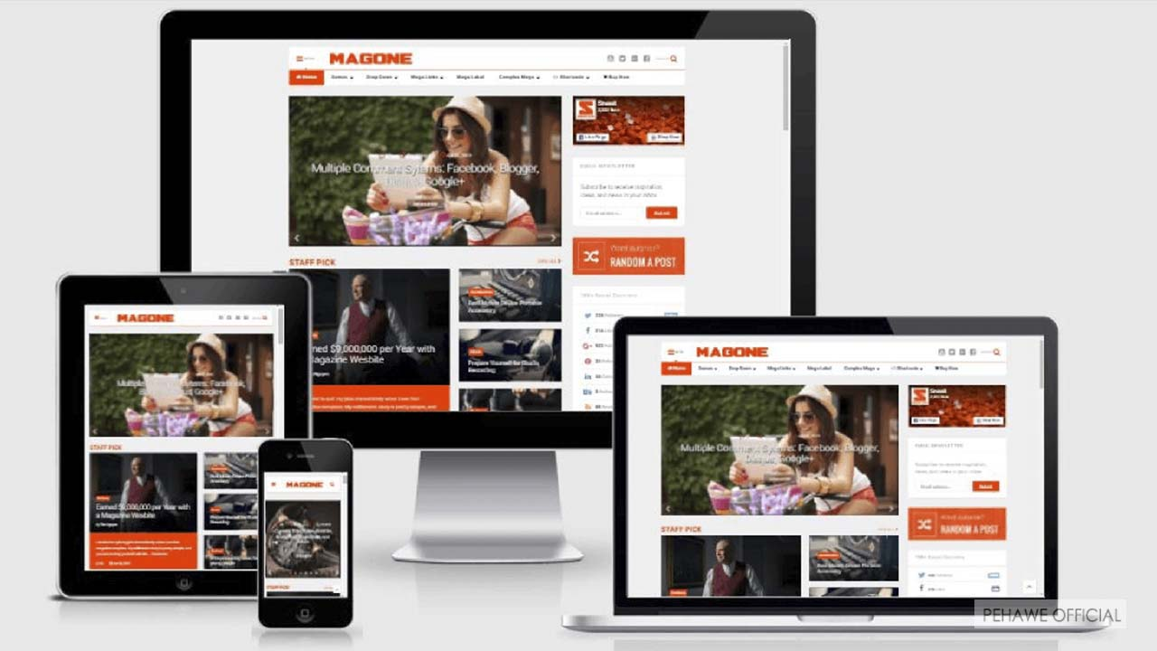 Free Download Magone v6.4.4 Premium Template