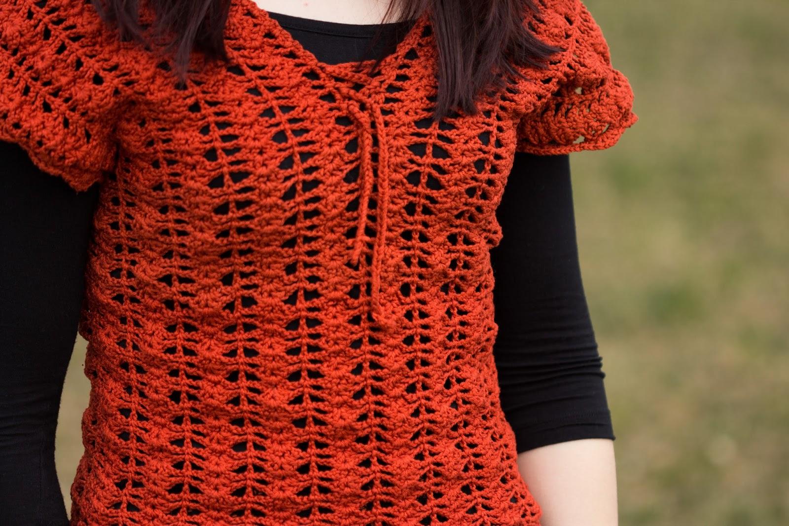 crochet handmade diy top