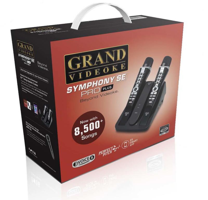 Grand Videoke celebrates 20th year in PH market with Symphony SE Pro Plus