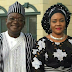Benue governor's wife and son test positive for COVID-19.