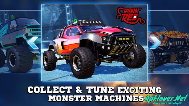 Monster Trucks Racing MOD APK unlimited mony