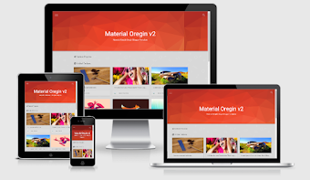 Origin Redesign V2 Responsive Blogger Template Free Download