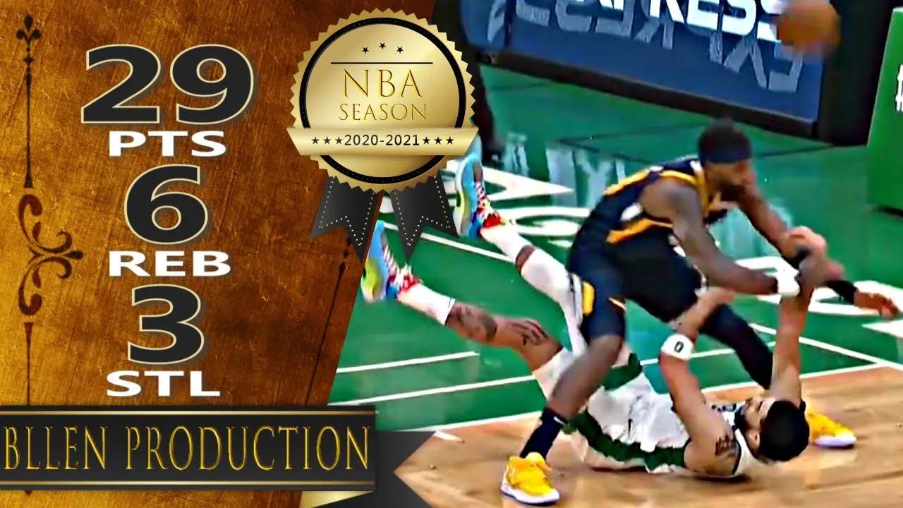 Jayson Tatum 29pts 6reb vs UTA   March 16, 2021   2020-21 NBA Season