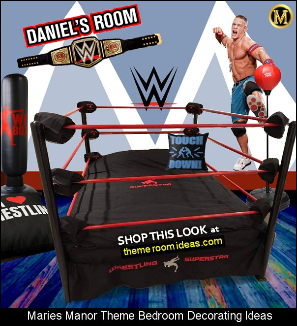 WWE Title Belt  John Cena WWE Wall Decal WWE bedroom ideas wrestling john cena bedroom decor martial arts wrestling boxing I Love Wrestling Floor Pillow