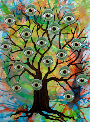 Baum mit vielen Augen