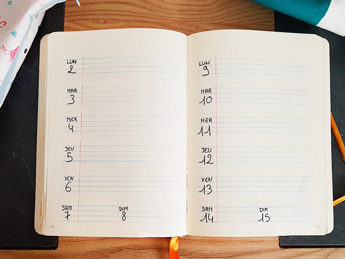 03 Bullet Journal Plan With Me Septembre Blog Nimoise